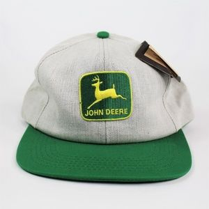 Vintage John Deere K Products Snapback Hat NWT